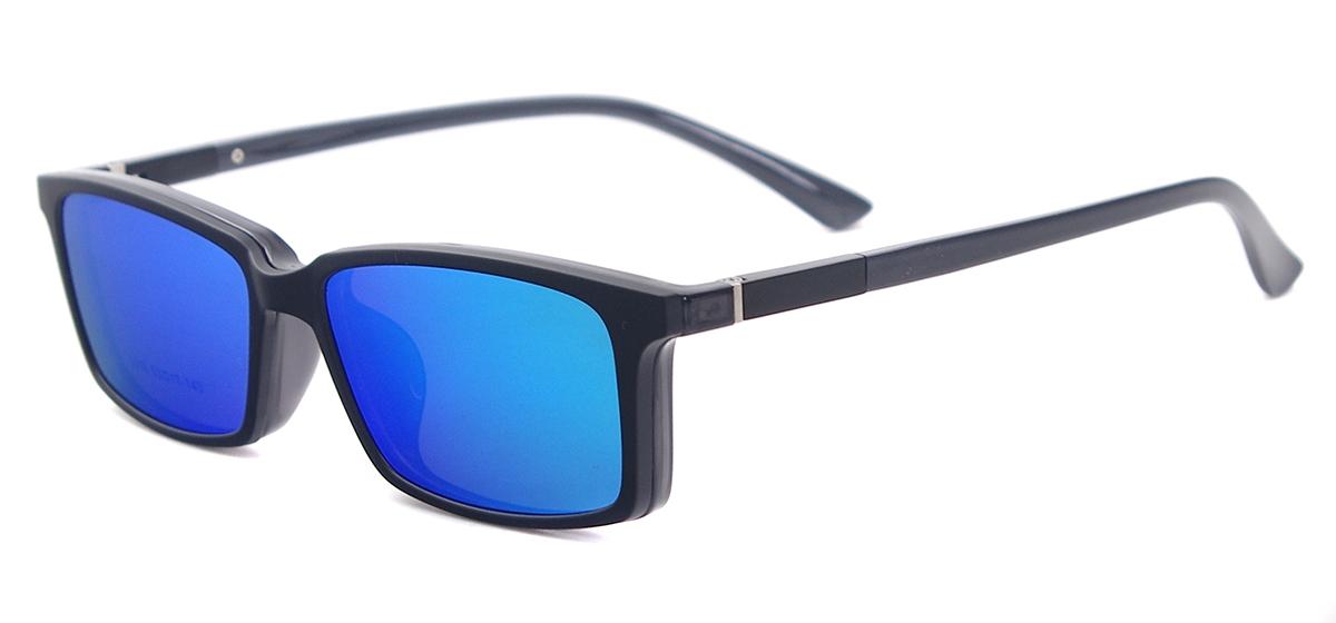 Men Rectangular Clip On Sunglasses Tendaglasses