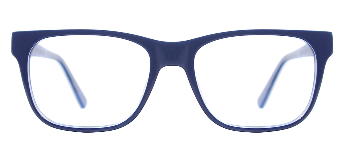 df383cd2cfb Square Acetate Spectacles - Blue